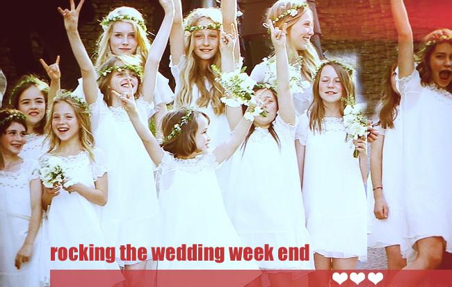 Que retenir de ce wedding week end ?