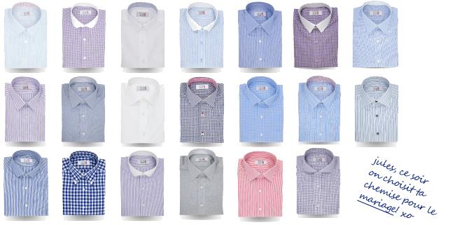 Assortir Jules à sa déco – chemises customisables Cotton Society