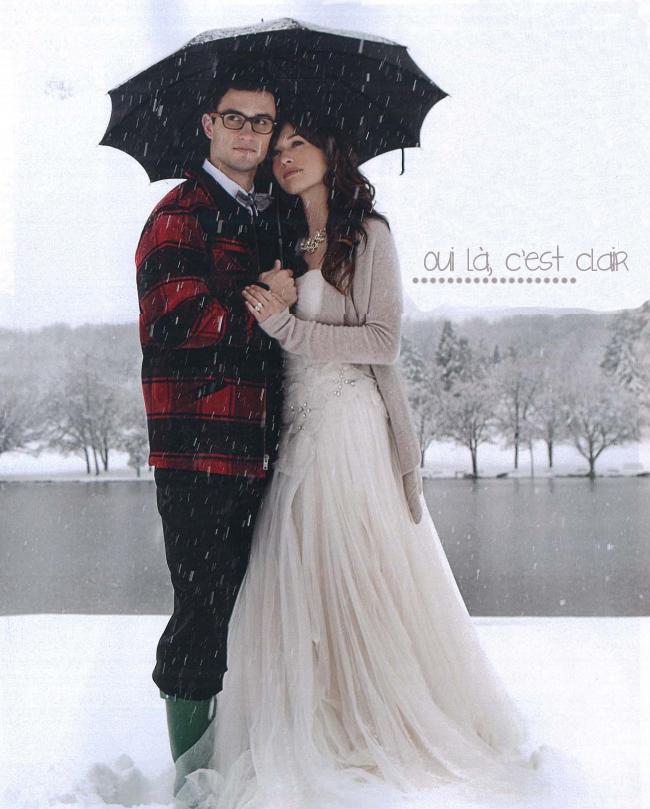 c philadelphia weddings robe reem acra - Etole Cachemire Mariage
