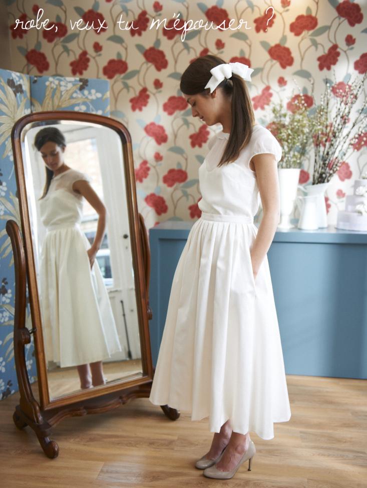Je veux me marier avec cette robe (littéralement) by Soeurs Waziers