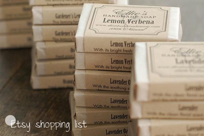 Last minute shopping pour vos invités – une petite sélection Etsy